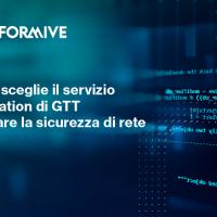 Performive sceglie il servizio DDoS Mitigation di GTT per migliorare la sicurezza di rete