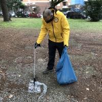 Completata la pulizia al Parco Galvani