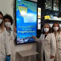 Informazione e solidarietà per il Calcit nel marzo delle Farmacie Comunali