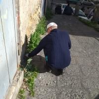 I volontari ripuliscono l'area di Piazza Settembrini a Napoli