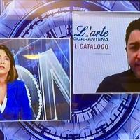"""TGCOM24: intervista col manager e curatore Salvo Nugnes sul catalogo Editoriale G. Mondadori """"L'Arte in Quarantena"""""""