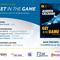 Get in the Game. Presentazione del libro di Alberto Calcagno.