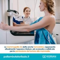 Mammografia Roma Poliambulatori Lazio korian