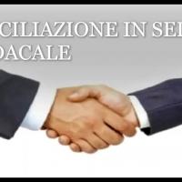 Conciliazione in sede Sindacale delle vertenze di lvoro