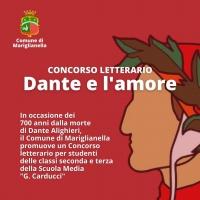 """-Mariglianella, Amministrazione Comunale promuove Concorso letterario per il Settecentenario della morte di Dante Alighieri""""."""