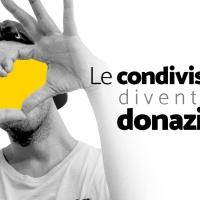 Le condivisioni diventano donazioni: campagna solidale ideata dal creativo Pierpaolo Corso