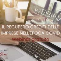 Il recupero crediti delle imprese nell'epoca Covid: come ottenere il miglior risultato al minor costo. Webinar gratuito