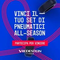 Visita il sito e vinci un set di pneumatici Vredestein all-season