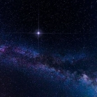 Regala una stella visibile in cielo