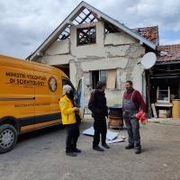 Aiuti Umanitari: Volontari di Scientology rientrati dalla 4° spedizione in Croazia