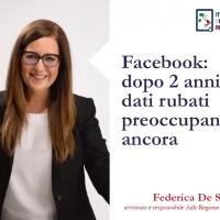 Facebook: dopo 2 anni i dati rubati preoccupano ancora