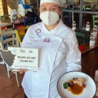 Denise Massarenti di Arezzo è la miglior Lady Chef della Toscana