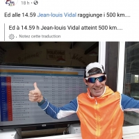 Jean-Louis Vidal: Ho scoperto l'ultra running all'età di 59 anni
