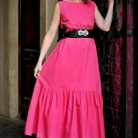 Bon Ton style per la primavera di Fabiana Gabellini interpretata dalla favolosa top model Andreea Duma