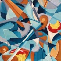 Le dinamiche espressive informali della pittura di Roberto Re