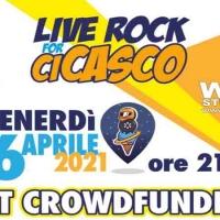 """Orvieto CiCasco: appuntamento per venerdì 16 aprile Musica e solidarietà live rock """" Vi Aspettiamo """""""