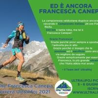 Francesca Canepa, Campionessa Italiana corsa su strada 24h con 224,264km