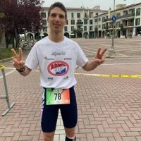 Stefano Emma, vice Campione Italiano corsa su strada 12h km 136,72