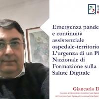 Emergenza pandemica e continuità assistenziale ospedale-territorio: L'urgenza di un Piano Nazionale di Formazione sulla Salute Digitale