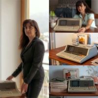 Hewlett Packard HP85 il computer vintage portatile all-in-one con tastiera integrata