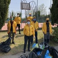 Successo delle pulizie di quartiere a Vallenoncello