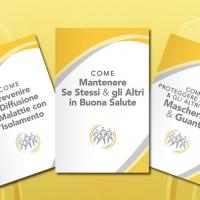 A Padova i volontari di Scientology donanoopuscoliinformativi  su come mantenere se stessi e gli altri in buona salute