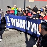 Ancora protesta dei lavoratori della Whirlpool