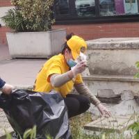 Marotta: ripulito il parco giochi Coal tra via delle Regioni e via Calabria