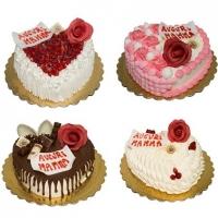 Nove torte targate pasticceria Seccia per la festa della mamma nel segno di cinema e serie tv