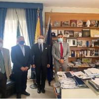 La «RETE RURALE SICILIANA» muove i primi passi.  Primo incontro istituzionale con l'Assessore Gaetano Armao.