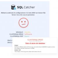 I controlli di SQL Catcher per SQL Server: attività schedulate
