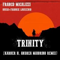 """NUSIA E FRANKIE interpretano """"TRINITY"""" la versione remix  di"""