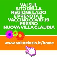 Vaccino Covid 19 Nuova Villa Claudia, prenota dal sito Regione Lazio