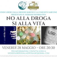 La storia di Diego Besozzi nel webinar informativo di prevenzione alle dipendenze