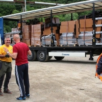 Rientrata dalla Croazia la 6° spedizione per aiuti umanitari dei Ministri Volontari di Scientology