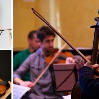 Orchestra da camera Accademia dal vivo all'aperto a Bagnolo Piemonte