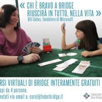 """Nelle Marche la pandemia non ferma il """"Bridge in Pista"""" La versione online si disputerà domenica 30 maggio alle ore 16.00"""