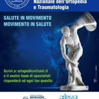 Prima giornata nazionale dell'Ortopedia e Traumatologia il 4 giugno