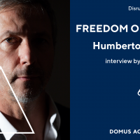 """Freedom of Design"": Domus Academy Milano ospita la talk con Humberto Campana"