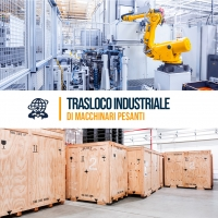 Trasloco industriale di macchinari pesanti