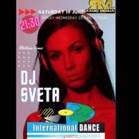 International Dance Suite by Pietro Gagliostro, il 19/6 ecco Dj Sveta