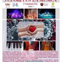 """Prevenzione cardiovascolare: in teatro lo spettacolo """"3 Cuori per la Musica"""""""
