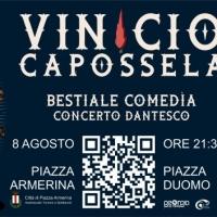 VINICIO CAPOSSELA,  BESTIALE COMEDÌA CONCERTO DANTESCO, 8 agosto 2021 Città di Piazza Armerina