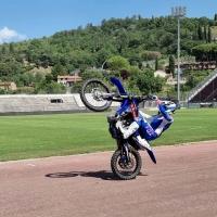 Le emozioni della mototerapia allo stadio di Arezzo per i ragazzi con autismo