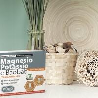 Magnesio, Potassio e Baobab contro la debolezza estiva