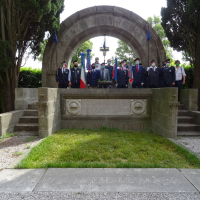 Ricordo del 30° anno dello Scioglimento  del gruppo squadroni 28° Cavalleggeri di Treviso