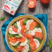I colori dell'Italia interpretati da Sonia Peronaci in una torta salata mediterranea