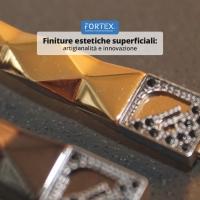 Finiture estetiche superficiali per il settore moda: artigianalità e innovazione