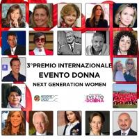 Premio Internazionale Evento Donna 3° edizione