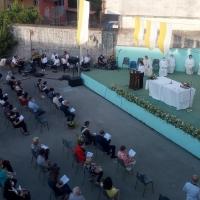 -Mariglianella,  Amministrazione Comunale al 50° Anniversario di Sacerdozio di Don Ginetto De Simone.